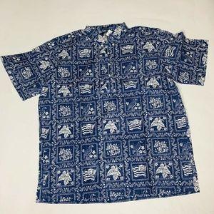 Reyn Spooner Mens Hawaian Shirt Size XXL Lahaina